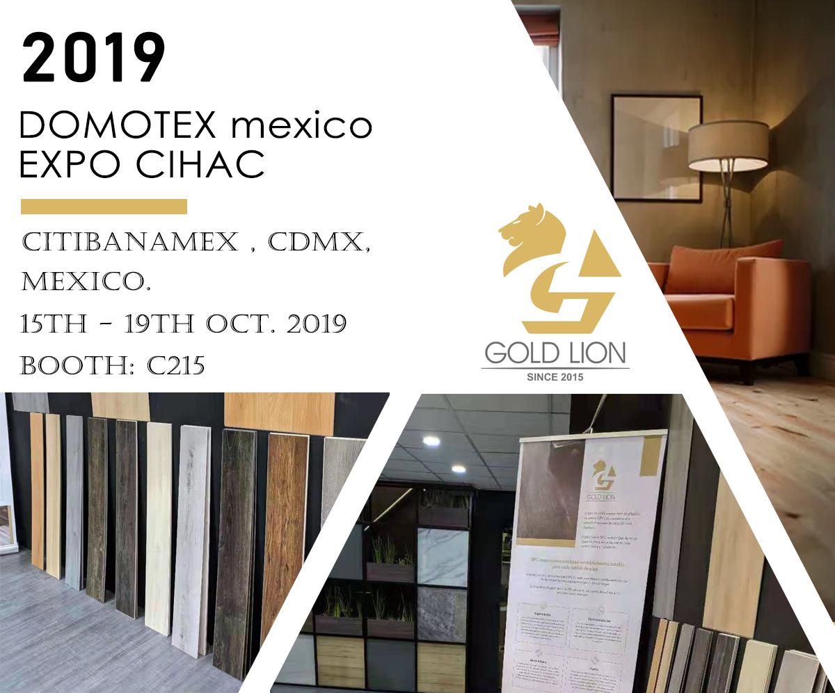 Visit us at Domotex Mexico 2019, Oct. 15-19th