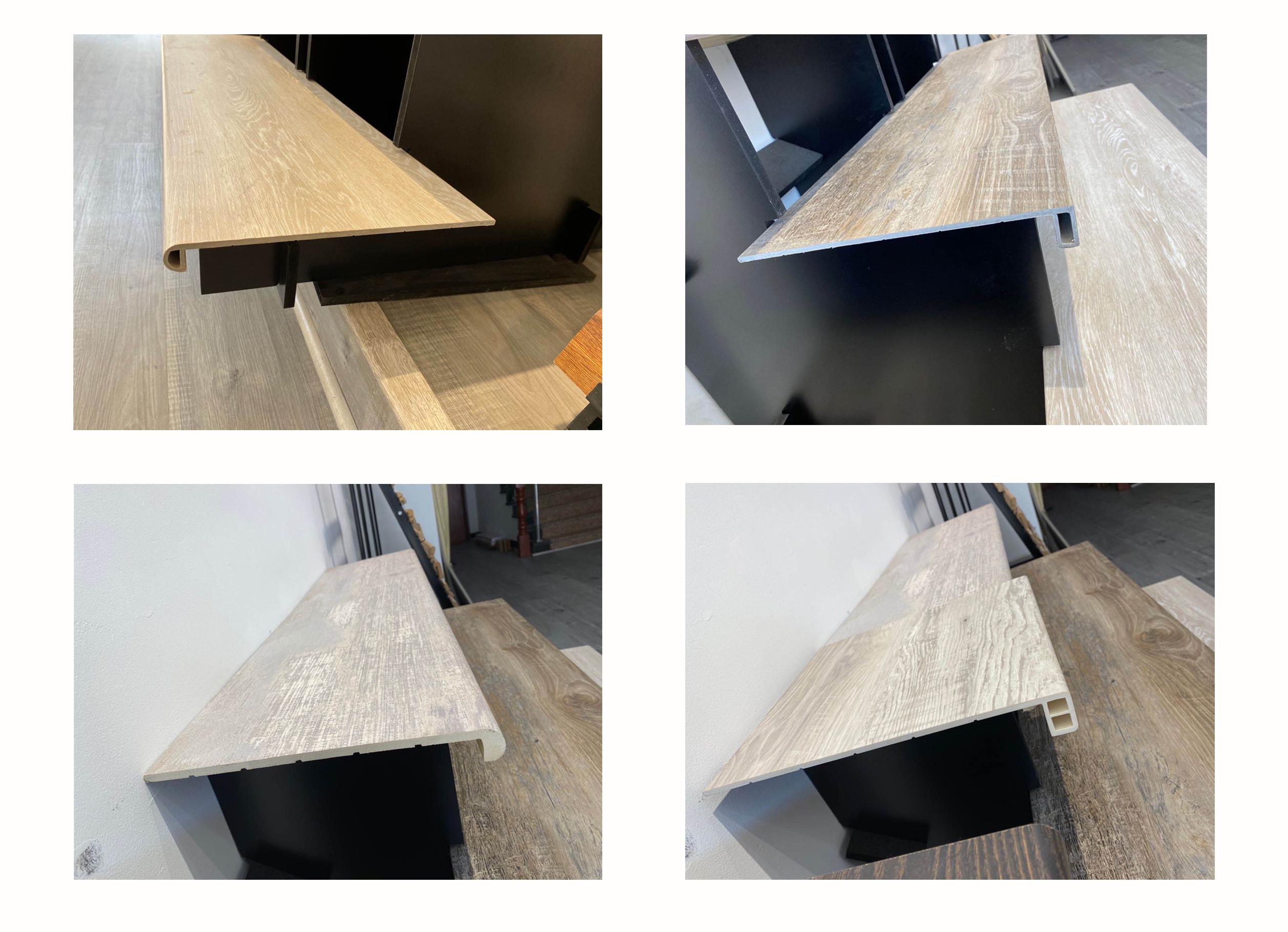 New Laminate WPC SPC Stair Tread No.3