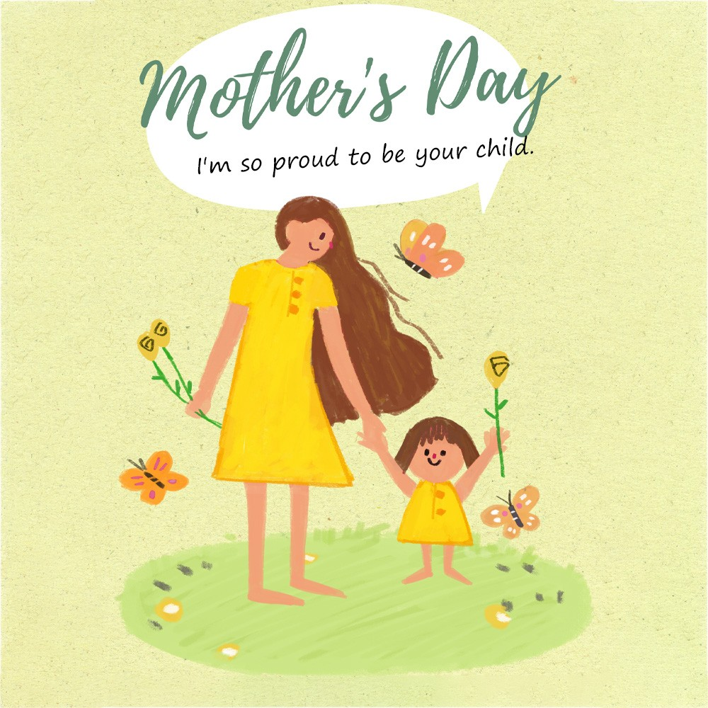 Happy Mother's Day, Say Love To Your Mom